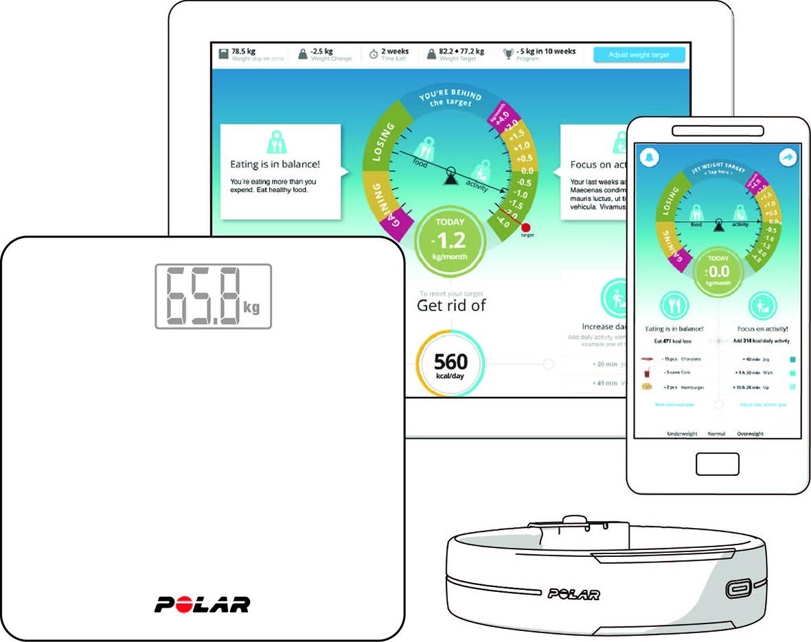 Polar Balance Waage Gebrauchsanleitung