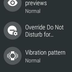 Polar M600 User Manual | Notification settings on the M600