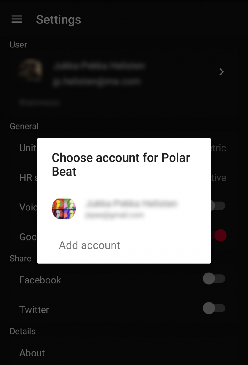 Connecting Polar Beat with Google Fit | Polar Global