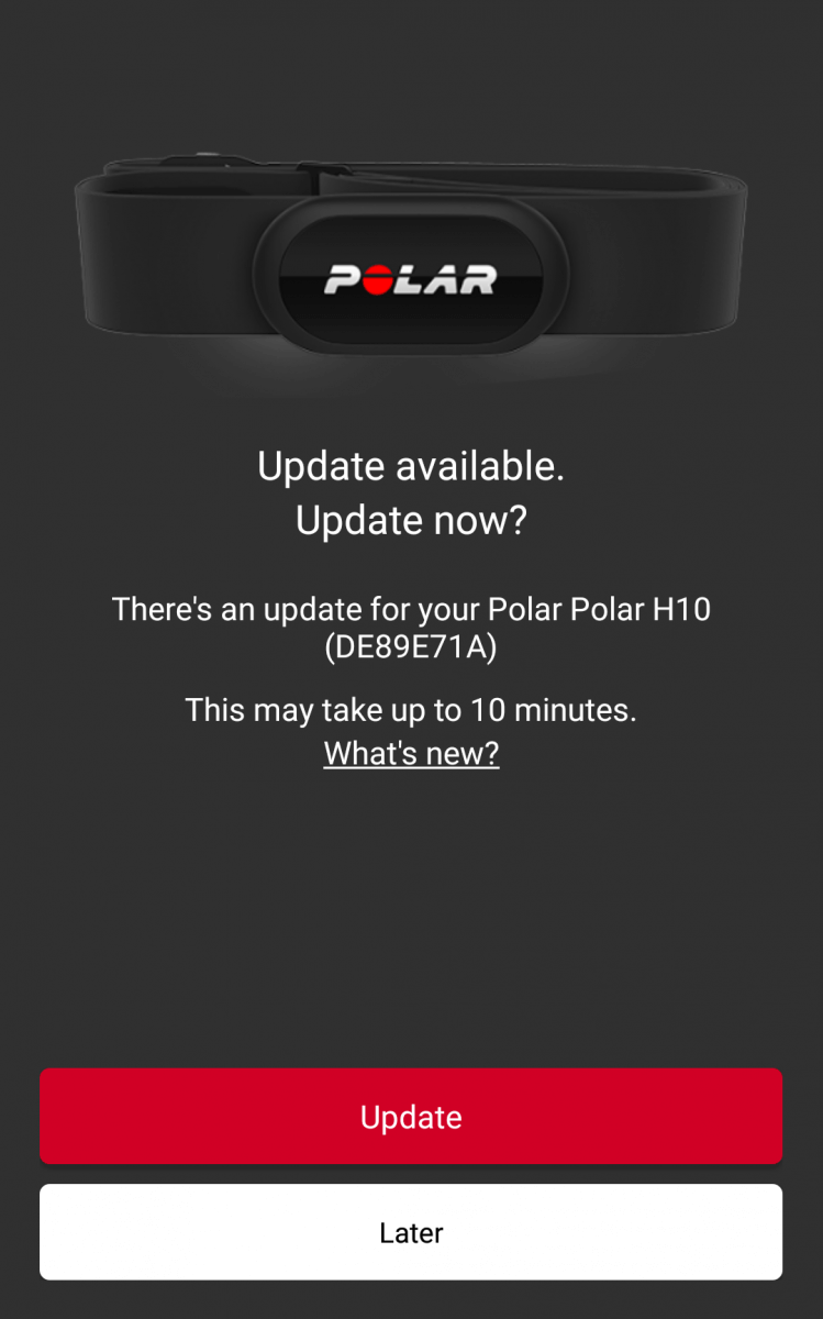 how to update the firmware on vaporesso polar