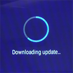 M600 downloading update