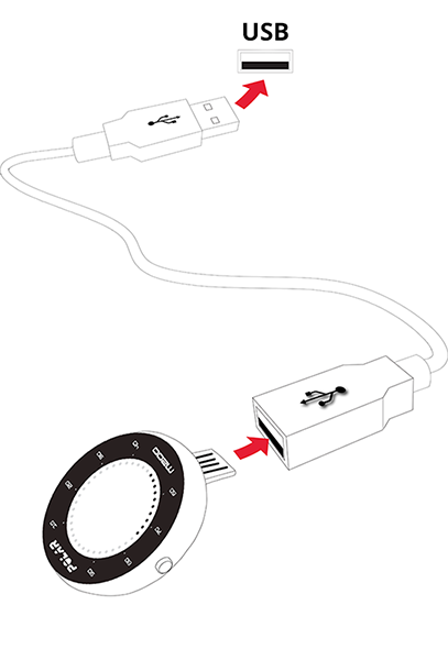 M200 USB cable